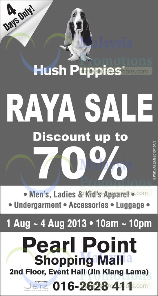 Hush Puppies 1 Aug 2013