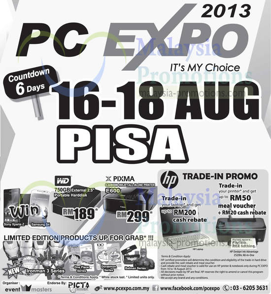 Featured image for PC Expo 2013 @ Penang International Sports Arena (PISA) 16 - 18 Aug 2013