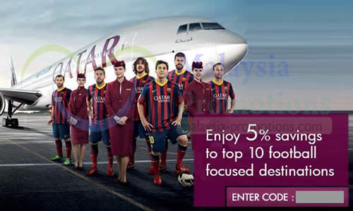 Qatar airways 5 off air fares coupon code for selected - Singapore airlines kuala lumpur office ...