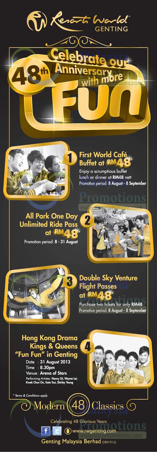 Resorts World Genting 14 Aug 2013