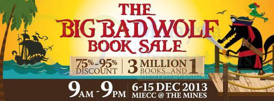 Big Bad Wolf Books 29 Sep 2013