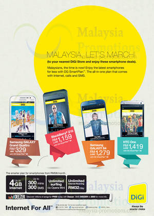 Featured image for DiGi SmartPlan Smartphone Offers 19 Sep 2013