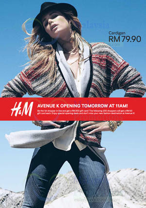 Featured image for H&M Opening Promotion @ Avenue K 31 Oct 2013