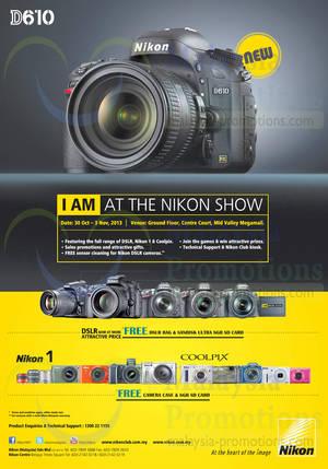 Featured image for Nikon Digital Cameras Roadshow @ Mid Valley Megamall 30 Oct – 3 Nov 2013