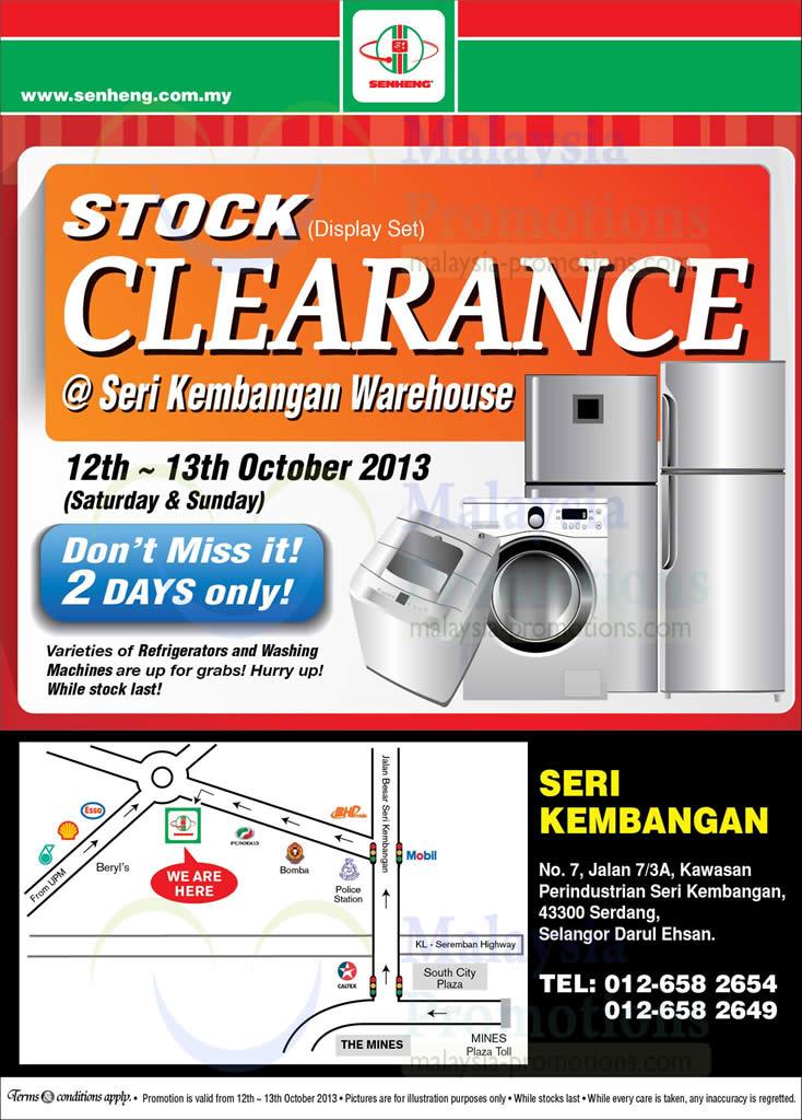 Senheng 13 Sep 2013 » Senheng Warehouse Clearance @ Seri