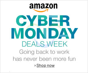 Featured image for Amazon Cyber Monday Deals Week 1 – 8 Dec 2013