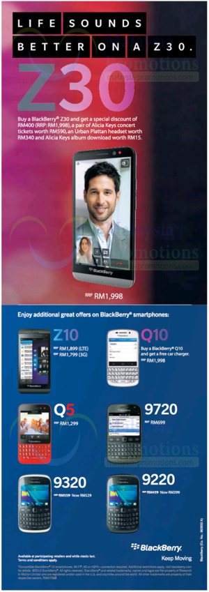 Featured image for Blackberry Smartphones Offers Price List 18 Nov 2013