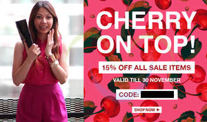 Featured image for FashionValet 15% Off Sale Items Coupon Code (NO Min Spend) 29 – 30 Nov 2013