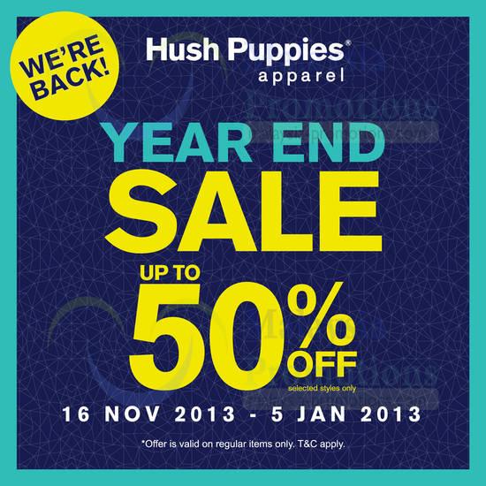 Hush Puppies 15 Nov 2013