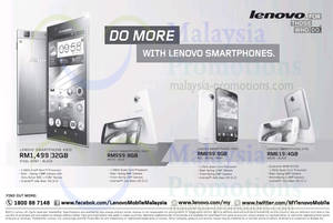 Featured image for Lenovo Smartphones Features & Price List 31 Oct 2013
