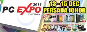 Featured image for PC Expo 2013 @ Persada Johor International Convention Centre 13 – 15 Dec 2013