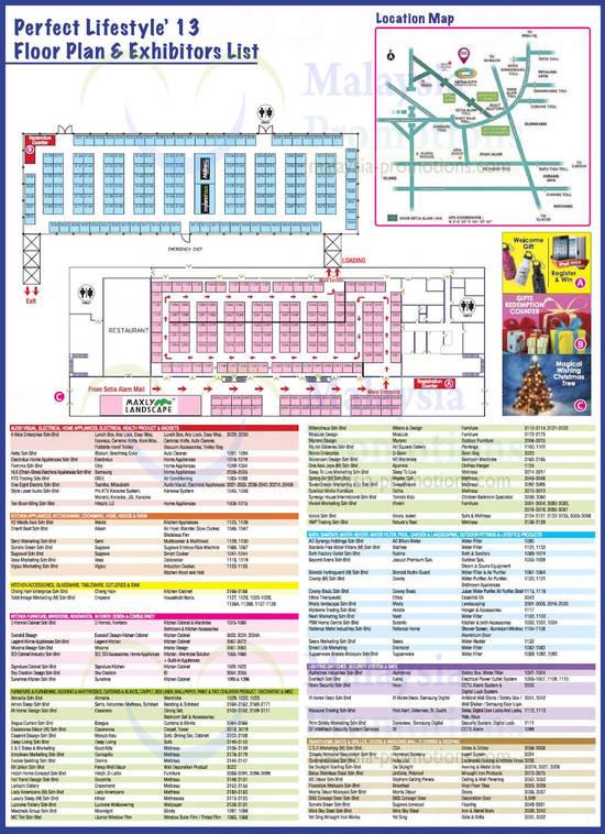 Floor Plan n Exhibitors List