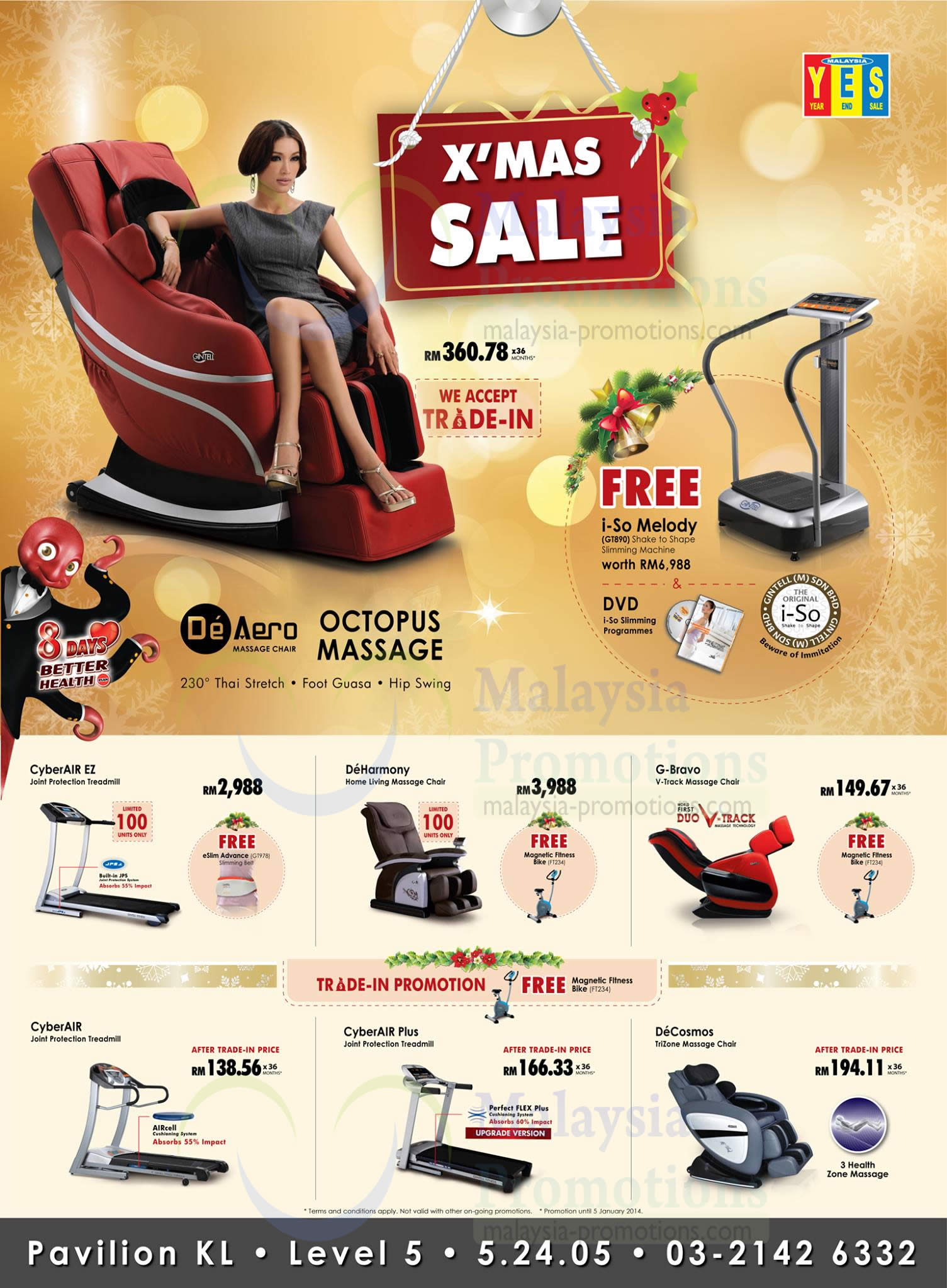 gintell fitness equipment massage chairs offers pavilion kl 4