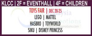 Featured image for Isetan Toys Fair @ KLCC 20 – 25 Dec 2013