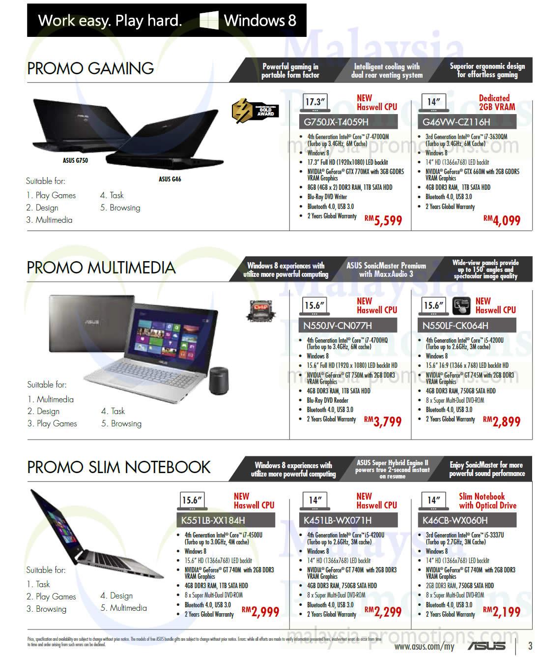 Asus g46vw deals