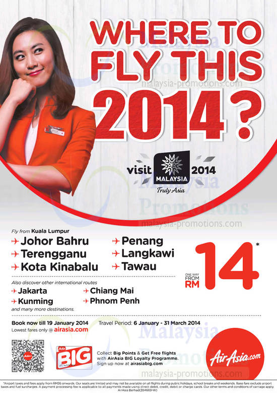 Air Asia 6 Jan 2014