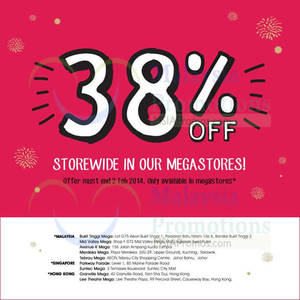 Featured image for Cotton On Kids 38% OFF Storewide Promo @ Selected Outlets 31 Jan – 2 Feb 2014