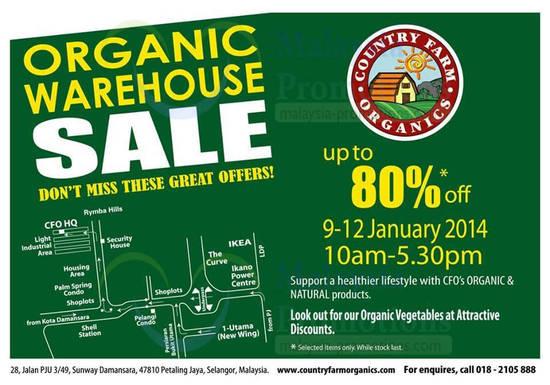 Country Farm Organics 7 Jan 2014