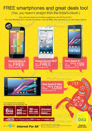 Featured image for Digi Smartphone Offers 30 Jan 2014
