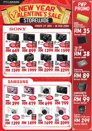 Featured image for PC Image Digital Cameras & Camcorder Offers 27 Jan – 14 Feb 2014
