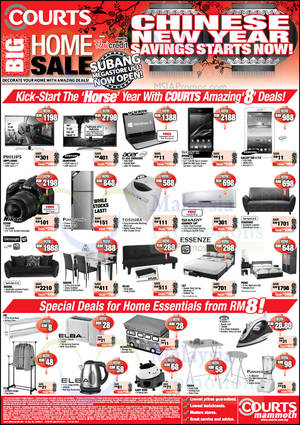 Featured image for Courts CNY Deals Offers 31 Jan – 2 Feb 2014