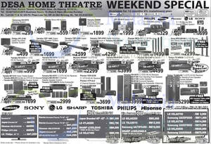 Featured image for Desa Home Theatre Weekend Offers 28 Feb 2014