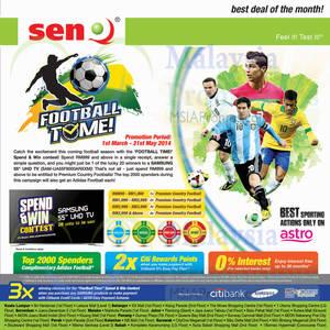 Featured image for SenQ TVs, Digital Cameras, Home Appliances & Mobile Phones Offers 1 Mar 2014