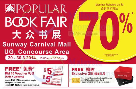 Popular Sunway Carnival, Discounts, Venue, Vouchers