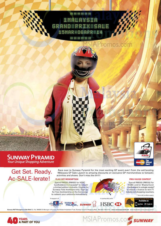 Sunway Pyramid 14 Mar 2014
