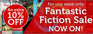 Featured image for The Book Depository 10% Off Fiction Books Coupon Code 21 – 27 Mar 2014