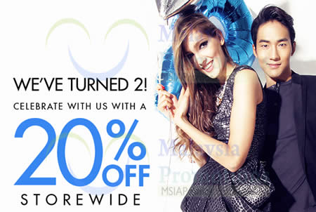 Featured image for Zalora 20% OFF Storewide One Day Promo 12 Mar 2014