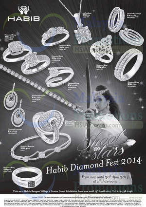 Featured image for Habib Diamond Fest @ All Showrooms 4 – 30 Apr 2014