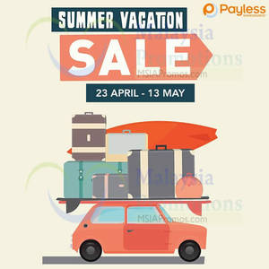 Featured image for Payless Shoesource Summer Vacation SALE 23 Apr – 13 May 2014