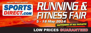 Featured image for SportsDirect.com Running & Fitness Fair Promotion 5 – 18 May 2014