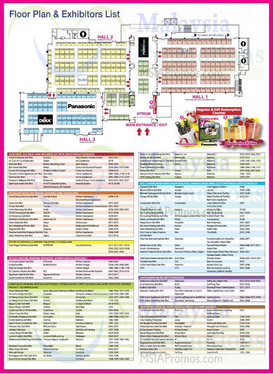 29 May Floor Plan n Exhibitor List