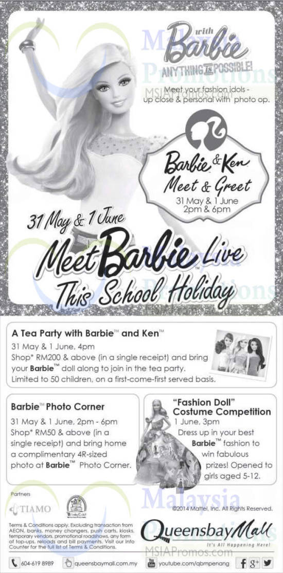 Barbie Queensway Mall 24 May 2014