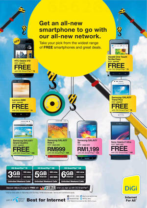 Featured image for Digi Smartphone Offers 24 May 2014