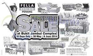 Featured image for Fella Design Furniture SALE @ Penang 30 May – 8 Jun 2014
