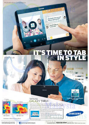 Featured image for Samsung Galaxy Tab 4 Features & Price 30 May 2014