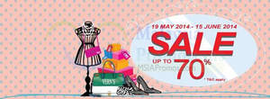 Featured image for Vern's Up To 70% OFF SALE 19 May – 15 Jun 2014