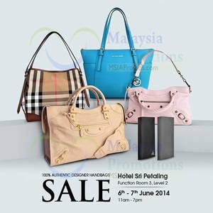 72c287474332 Celebrity WearHouz Handbags SALE   Sri Petaling Hotel 6 – 7 Jun 2014