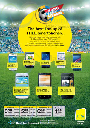 Featured image for Digi RM0 (FREE) Smart Plan Smartphone Offers 18 Jun 2014