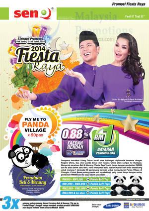 Featured image for SenQ Fiesta Raya Electronics Offers 1 Jun 2014