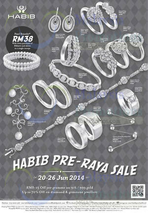 Featured image for Habib Pre-Raya Sale 20 – 26 Jun 2014