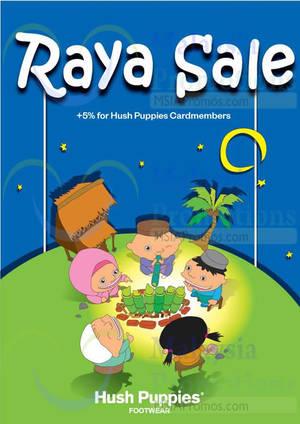 Featured image for Hush Puppies Footwear Raya SALE 30 Jun 2014