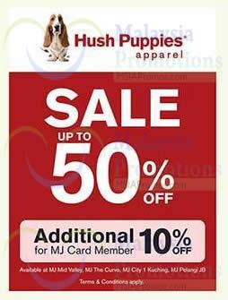 Featured image for Hush Puppies Apparel SALE @ Metrojaya 30 Jun 2014