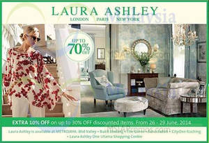Featured image for Laura Ashley SALE 30 Jun 2014