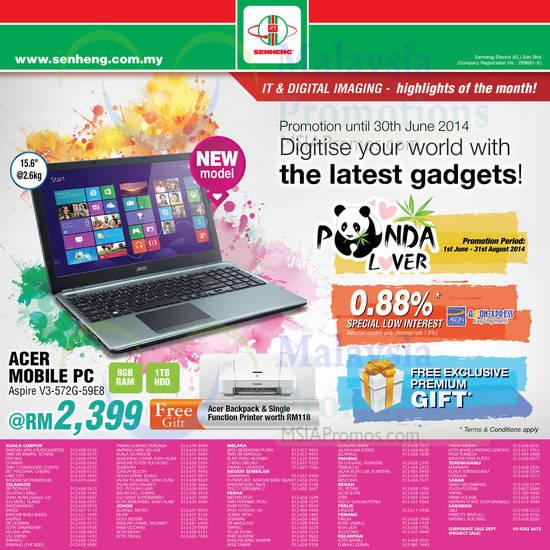 Featured image for Senheng IT & Digital Imaging Offers 1 Jun 2014