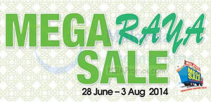 Featured image for Reject Shop Mega Raya SALE 28 Jun – 3 Aug 2014
