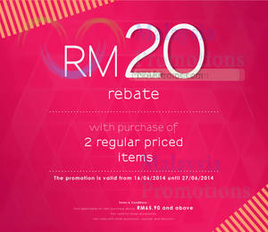 Featured image for Summit Shoes Buy 2 Items & Get RM20 OFF 16 – 27 Jun 2014